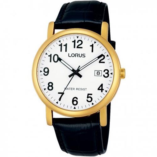 Heren Doublé Horloge