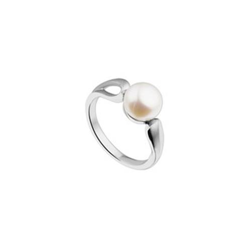 Zilveren Parel Ring