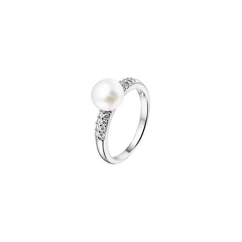Zilver Pare/Zir Ring