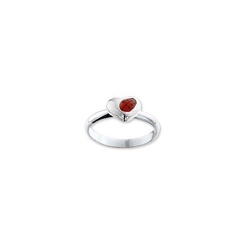 Zilveren Lieve. Ring