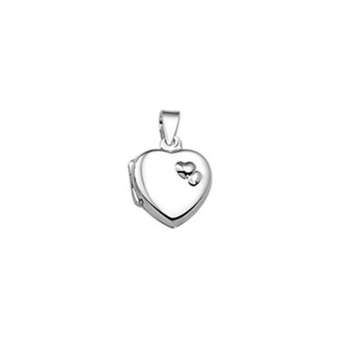 Zilver Amulet Hart