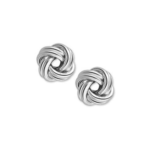 Zilver Oorknop