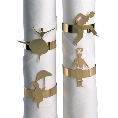 Napkin-rings 4 pcs