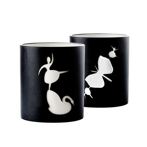Swan&Butterfly Black