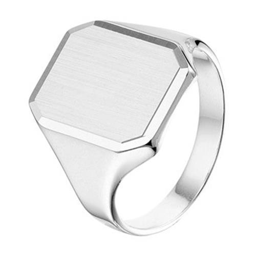 Zilver graveer ring