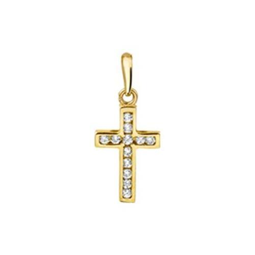Geelgoud kruis bedel